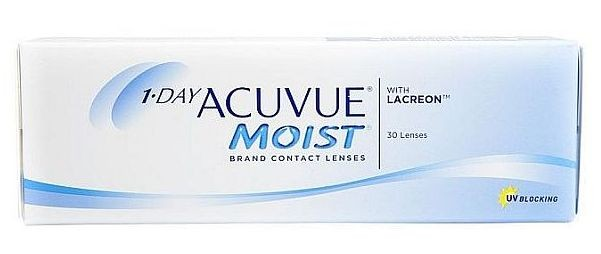1Day Acuvue Moist 30 tk