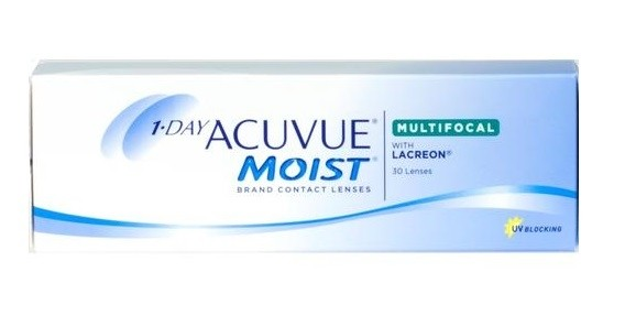 1-Day Acuvue Moist Multifocal 30 tk