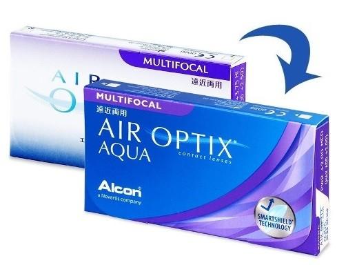 AirOptix Aqua Multifocal 3 tk