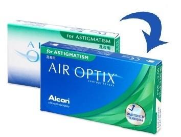 AirOptix Aqua for Astigmatism 3 tk