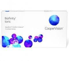 Biofinity Toric 1 tk