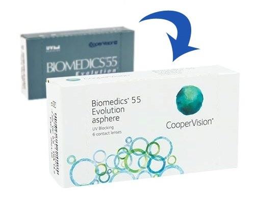 Biomedics 55 Evolution 6 tk
