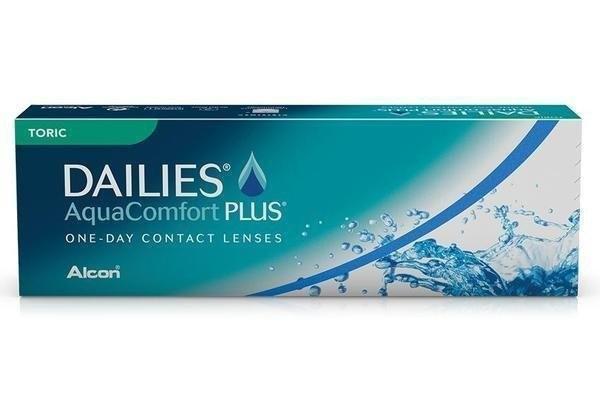 Dailies Aqua Comfort Plus Toric 30 tk