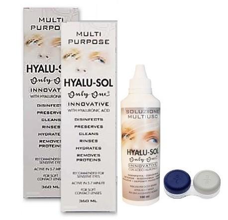 OnlyOne Hyalu-Sol 360 ml 2 tk + 100 ml lahus ja konteiner TASUTA!