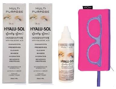 OnlyOne Hyalu-Sol 360 ml 2tk + 100 ml lahuse ja kotike TASUTA!