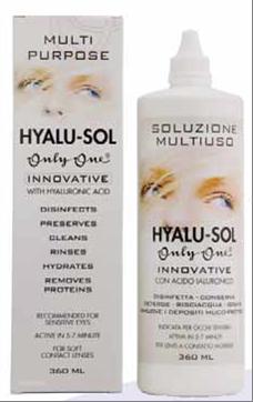 OnlyOne Hyalu-Sol 360 ml + konteiner + vahva loomakujuline konteiner TASUTA!