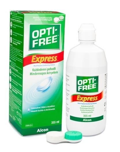 Opti-Free Express 355 ml + konteiner