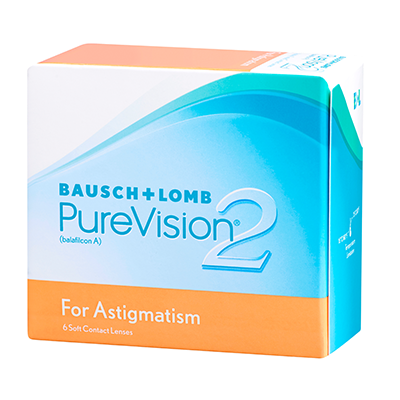 PureVision 2HD for Astigmatism 6 tk