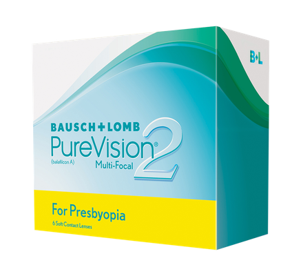 PureVision 2HD Multifocal for Presbyopia 6 tk