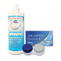 Komplekt AirOptix plus HydraGlyde 3+3 ja Unica Plus 360ml + konteiner