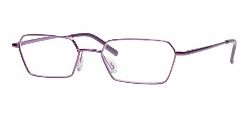 Metallraamidega lugemisprillid Shiny Purple Medium 51 lilla