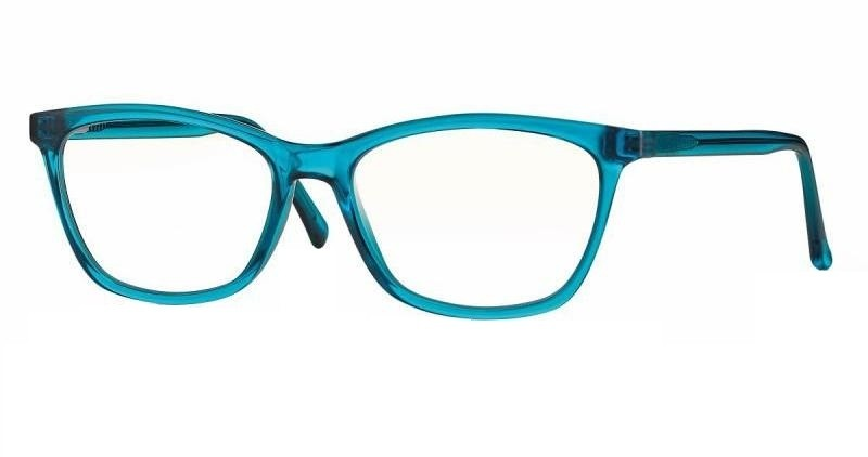 Cat-Eye F0216 Shiny Turquoise Blue Light Filter 0,0