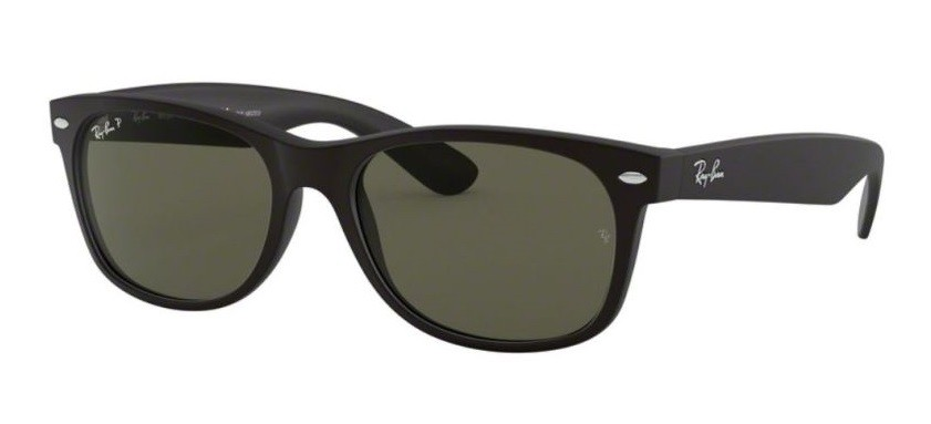 Ray-Ban 2132 622/58 New Wayfarer Polarized (Size M)
