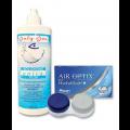 Комплект AirOptix plus HydraGlyde 3+3 и Unica Plus 360 мл. + контейнер